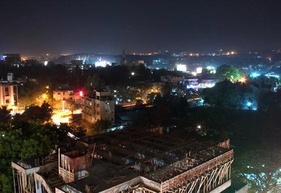 1192-Night-view-of-IT-CITY-PUNE.