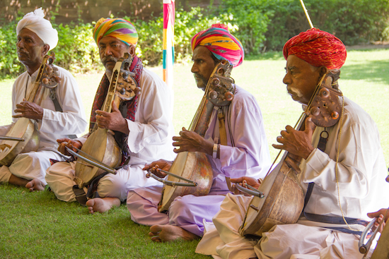 In Residence - Rajasthani Performers