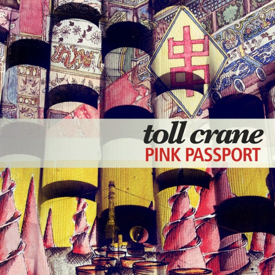 Samya Arif's cover for Toll Crane'c Pink Passports