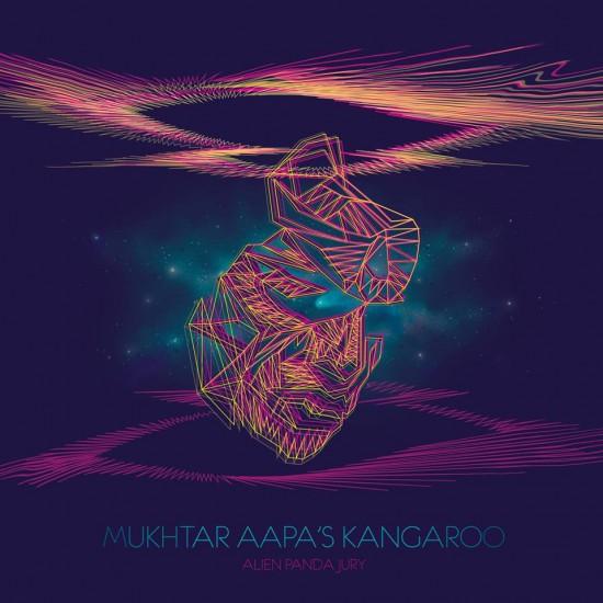 Sana Nasir's cover for Alien Panda Jury's Mukhtar Aapa's Kangaroo
